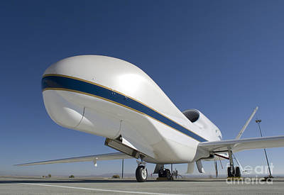 Global Hawk Unmanned Aircraft Print by Stocktrek Images