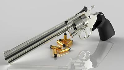 Glorious Colt Print by Rimantas Vaiciulis
