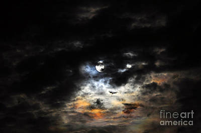 Glorious Gibbous - Wide Version Print by Al Powell Photography USA