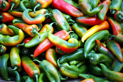 Food Photograph - Glorious Peppers by Marilyn Hunt