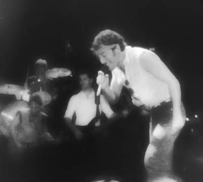 Bruce Springsteen Digital Art - Glory Days - Bruce Springsteen by Bill Cannon