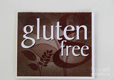 Gluten Free Print by Photo Researchers, Inc.