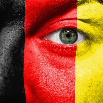 Go Belgium Print by Semmick Photo