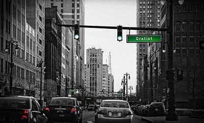 Go Go Gratiot Original by Gordon Dean II