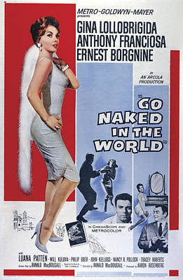 Naked Prostitute Photograph - Go Naked In The World, From Left Gina by Everett