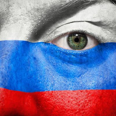 Go Russia Print by Semmick Photo