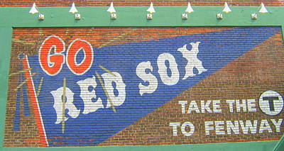 Go Sox Print by Bruce Carpenter