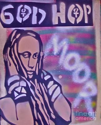 Liberal Painting - Goddess Hop by Tony B Conscious