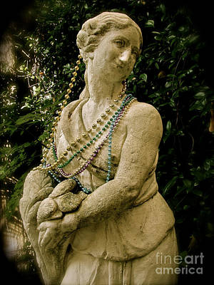 Goddess Of The Bayou Print by Laura Brightwood