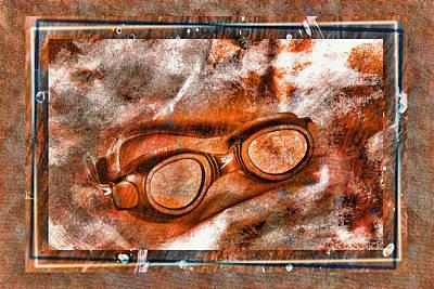 Goggles Print by Mauro Celotti