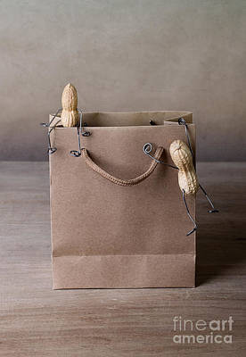 Carrier Photograph - Going Shopping 02 by Nailia Schwarz