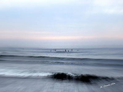 Going To The Wave Print by Mily Iriarte