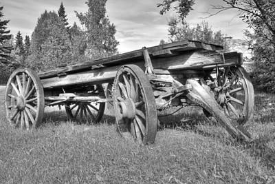 Gold Rush Wagon Print by Thomas Payer