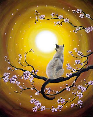 Golden Afternoon Sakura Original by Laura Iverson