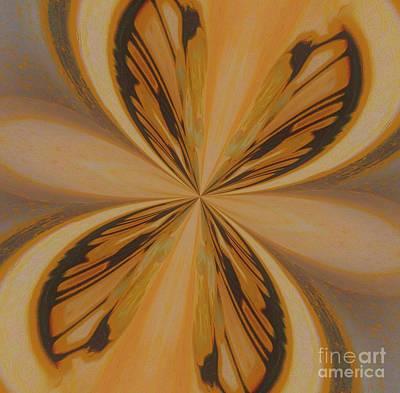 Golden Butterfly Original by Marsha Heiken