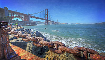 Golden Gate Bridge Print by Everet Regal