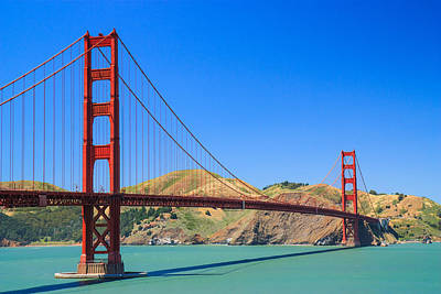 Y120831 Photograph - Golden Gate Bridge, by Feng Wei Photography