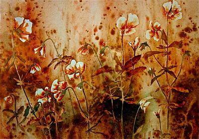 Golden Hues Print by Carolyn Rosenberger