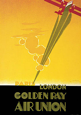 Golden Ray Print by E Maurus