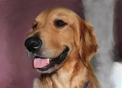 Golden Retriever Original by Snake Jagger