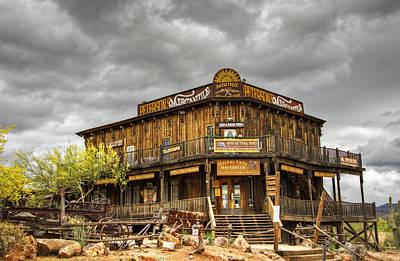 Peterson Photograph - Goldfield Ghost Town - Peterson's Mercantile  by Saija  Lehtonen