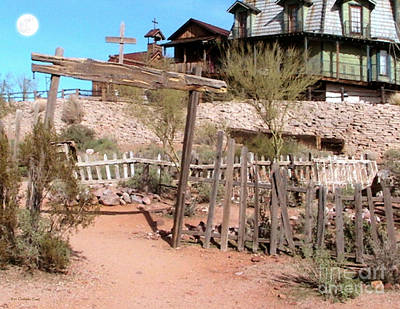 Goldfield Ghost Town Print by Cristophers Dream Artistry