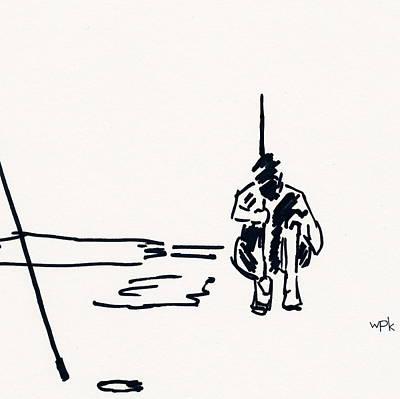 Arnold Palmer Drawing - Golf II by Winifred Kumpf
