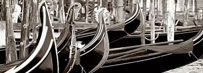 Gondola Park Print by Photography Art