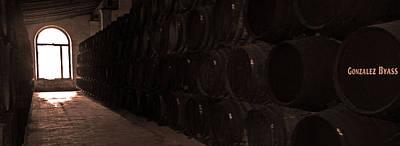 Wine Cellar Photograph - Gonzalez Byass - Jerez  De La Frontera by Juergen Weiss
