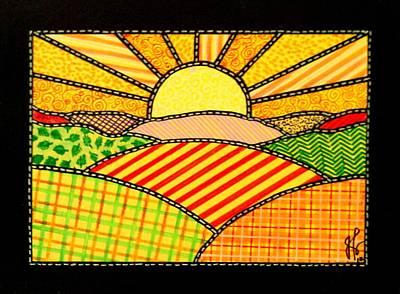 Good Day Sunshine Original by Jim Harris