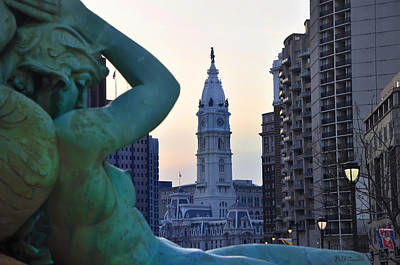 William Penn Digital Art - Good Morning Philadelphia by Bill Cannon