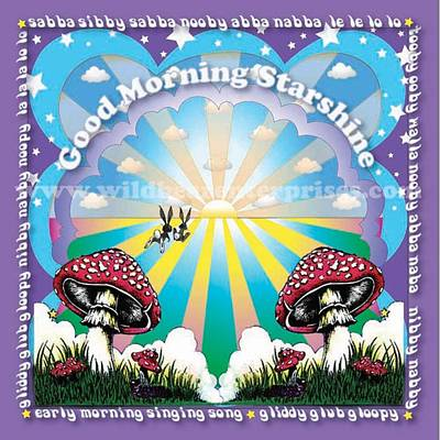 Good Morning Starshine Print by Annie Wildbear