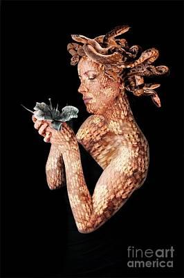 Gorgon Digital Art - Gorgon by Jonathan Armes