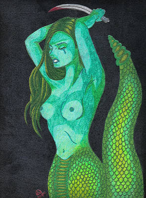Gorgon Digital Art - Gorgon by Rebecca Walker