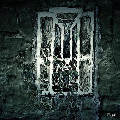 Creepy Card Mixed Media - Gothic Window by Paula Ayers