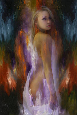 Sensual Digital Art - Gracias A La Vida by Mark Ashkenazi