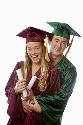 Graduation Couple IIi Print by Tomas del Amo