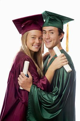 Graduation Couple Print by Tomas del Amo