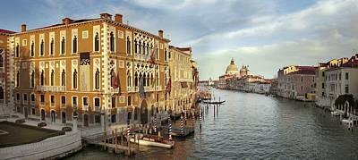 Cavalli Photograph - Grand Canal, Venice by Tony Craddock