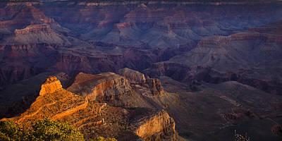 Grand Canyon Panorama Print by Andrew Soundarajan