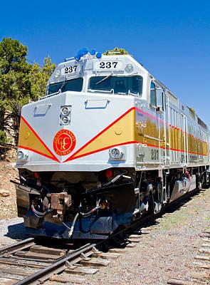Grand Canyon Railway Locomotive Original by Adam Pender