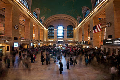 Grand Central Station Original by Peter Luxem