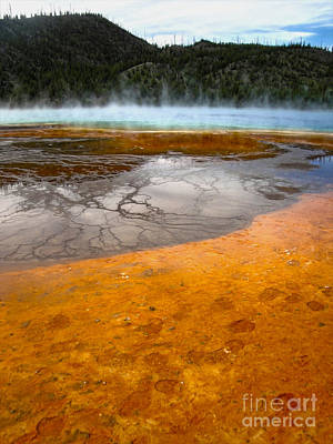 Grand Prismatic Spring Print by Gregory Dyer