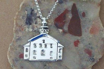 Nautical Jewelry Jewelry - Grand Traverse Lighthouse Necklace by Ted Lepczynski
