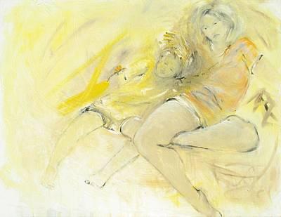 Grandma And Me Original by Elizabeth Parashis