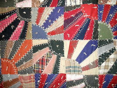 Grandma Baird's Quilt Print by Wayne Potrafka