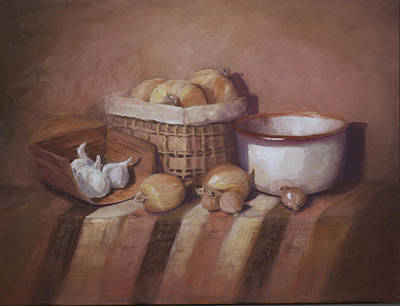 Scoop Painting - Grandma's Kitchen by Diana Cox
