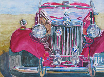 Convertible Painting - Grandpas Toy by Jenny Armitage