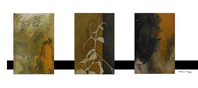 Xoanxo Digital Art - Grapevine Compositional Collage by Xoanxo Cespon