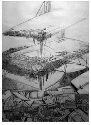 Graphic Art  Europa 2013 Original by Waldemar Szysz
